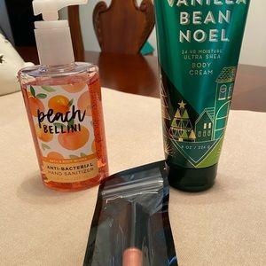 Vanilla bean Noel lotion set